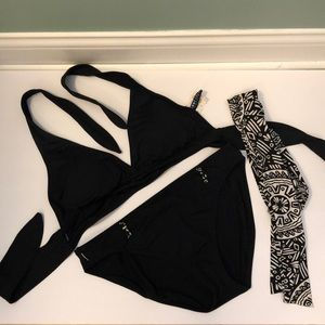 Anne Cole 2-piece with belt size Large